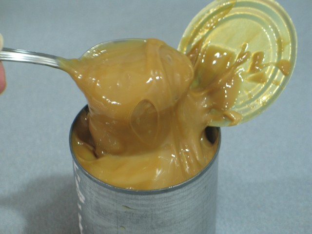 Cake filling, sweetened condenced milk