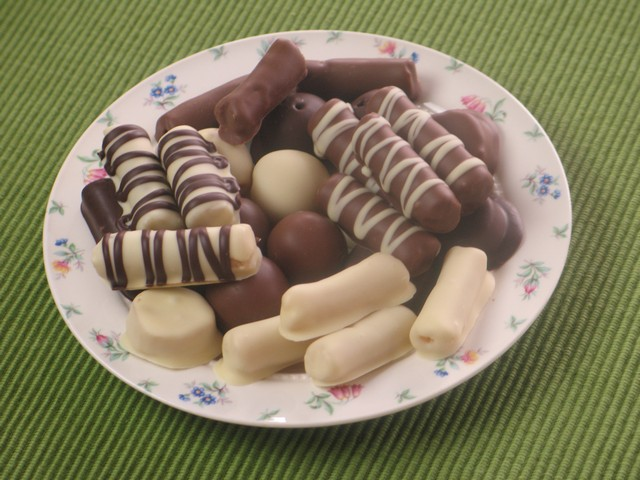 Marzipan Chocolate Treats
