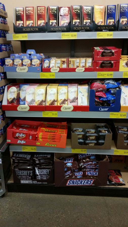 Aldi chocolate selections, European, amazing chocolates that melt in your mouth! And inexpensive, how can you beat it!