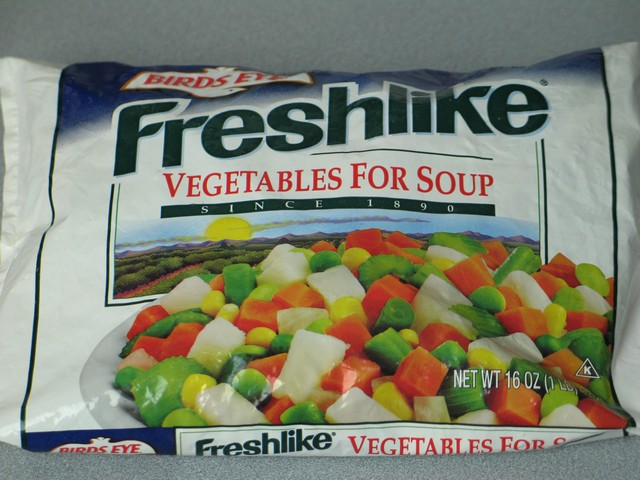 Frozen vegetables, Freshlike