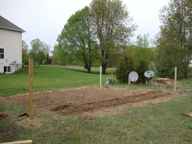 Tilling new garden