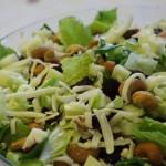 Romaine Cashew Craisin Salad Recipe