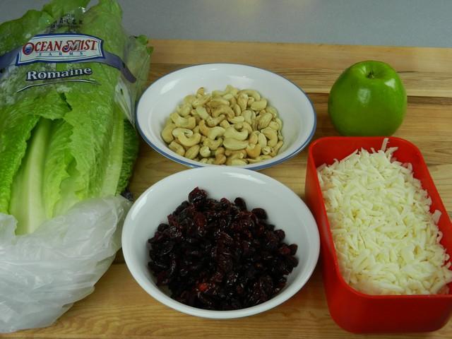 Romaine salad ingredients