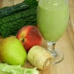 Whole juice; vegetables, kale, fruit, pulp