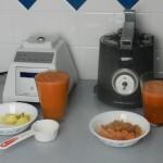 Juicing comparison between Blendtec and Hamilton Beach extractor juicer
