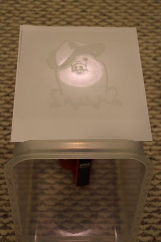 diy tracing light box made in seconds using household items the