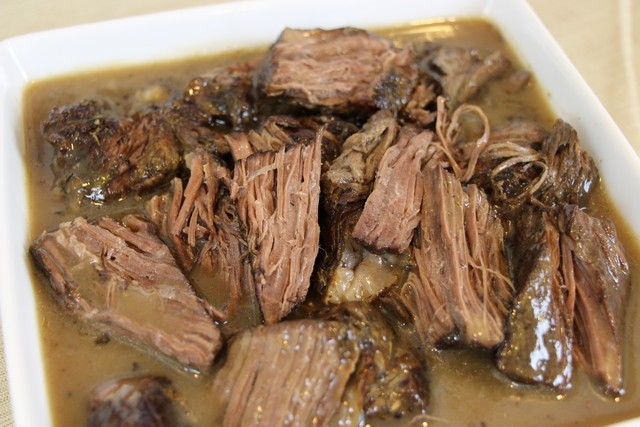 Savory, Tender, Fall Apart Pot Roast Recipe