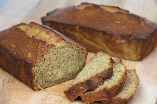 Banana Bread Recipe, Country Style Home Baked