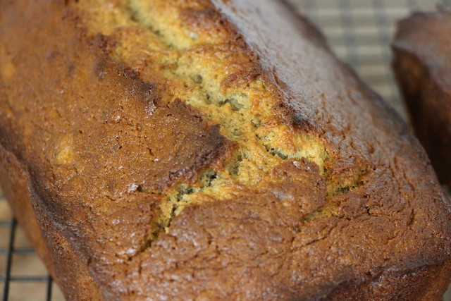 Banana bread recipe, delicious, moist, flavor packed