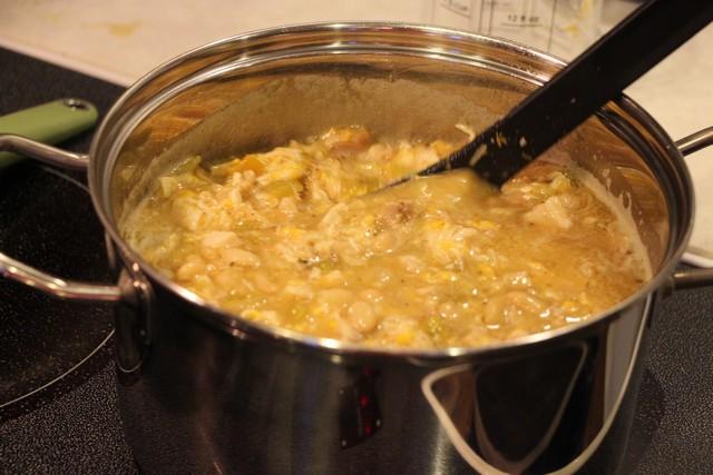 White Chili, stirring the pot