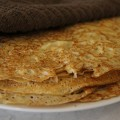 Recipe, authentic Norwegian pancakes, traditional recipe