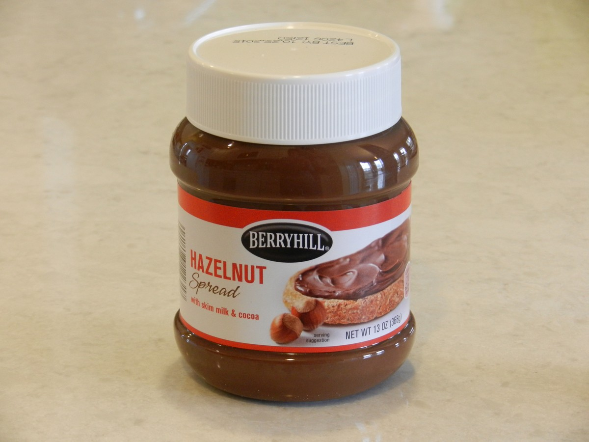 Aldi's version of Nutella, actually better than the Nutella brand! They also carry organics, natural foods, and some gluten free. Lists of recommended and not-recommended items at Aldi.