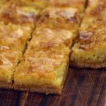 Cream Cheese Squares recipe. Sweet, sticky and gooey! With picture guide!
