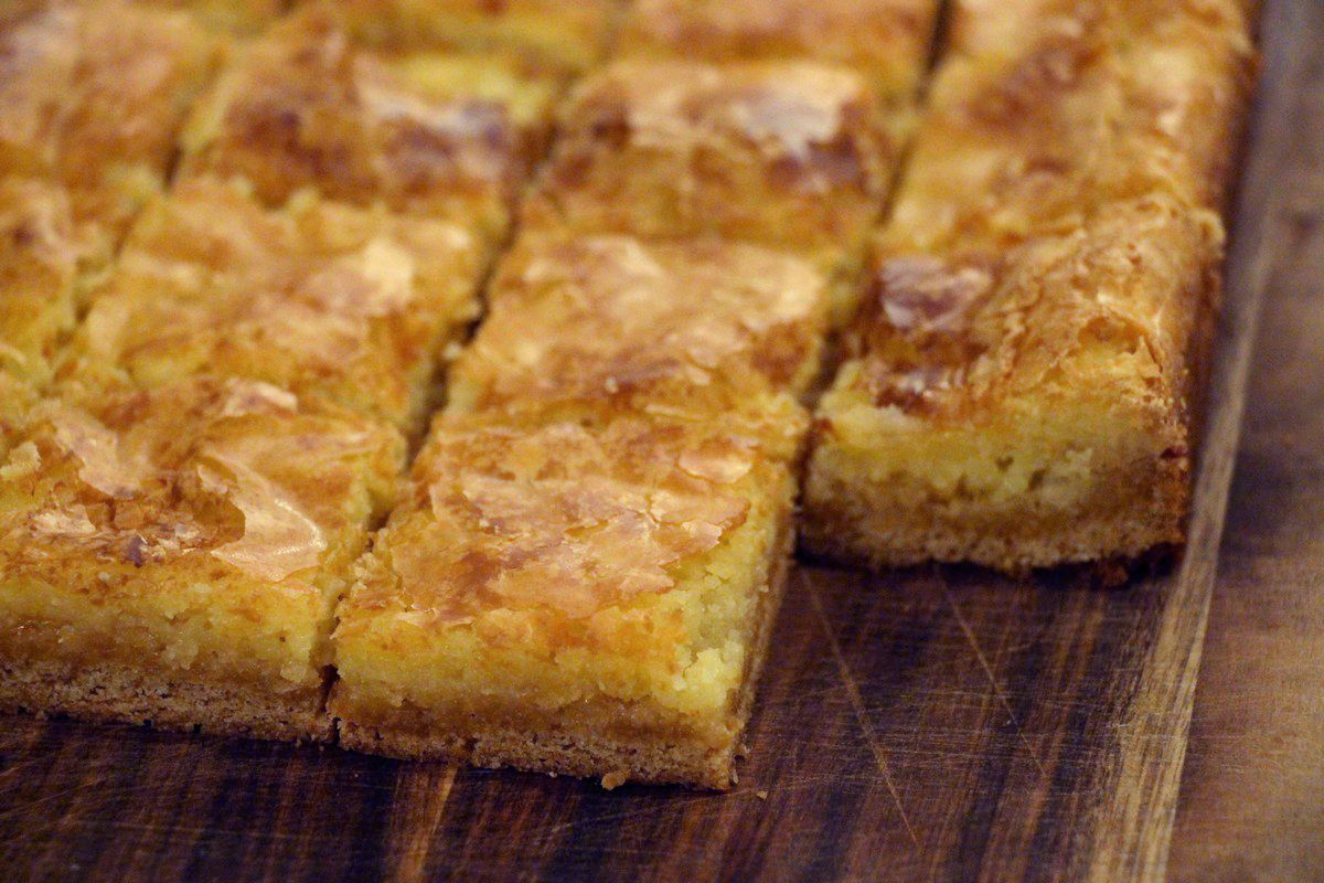 Cream Cheese Squares recipe. Sweet, sticky and gooey! With picture ...