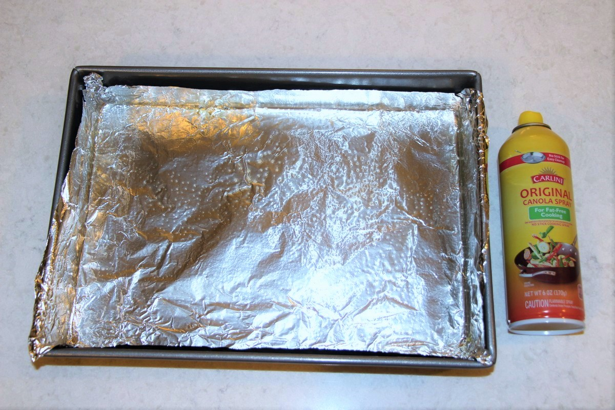 Tip on preparing pan to get cream cheese sticky bars, or brownies, easily and cleanly out of the pan.