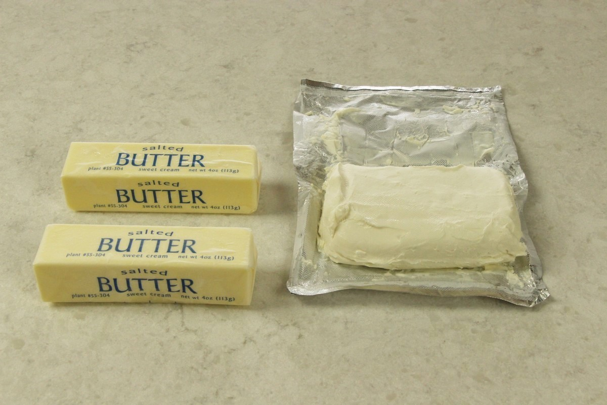 Butter and cream cheese for flavorful sugar cookies.