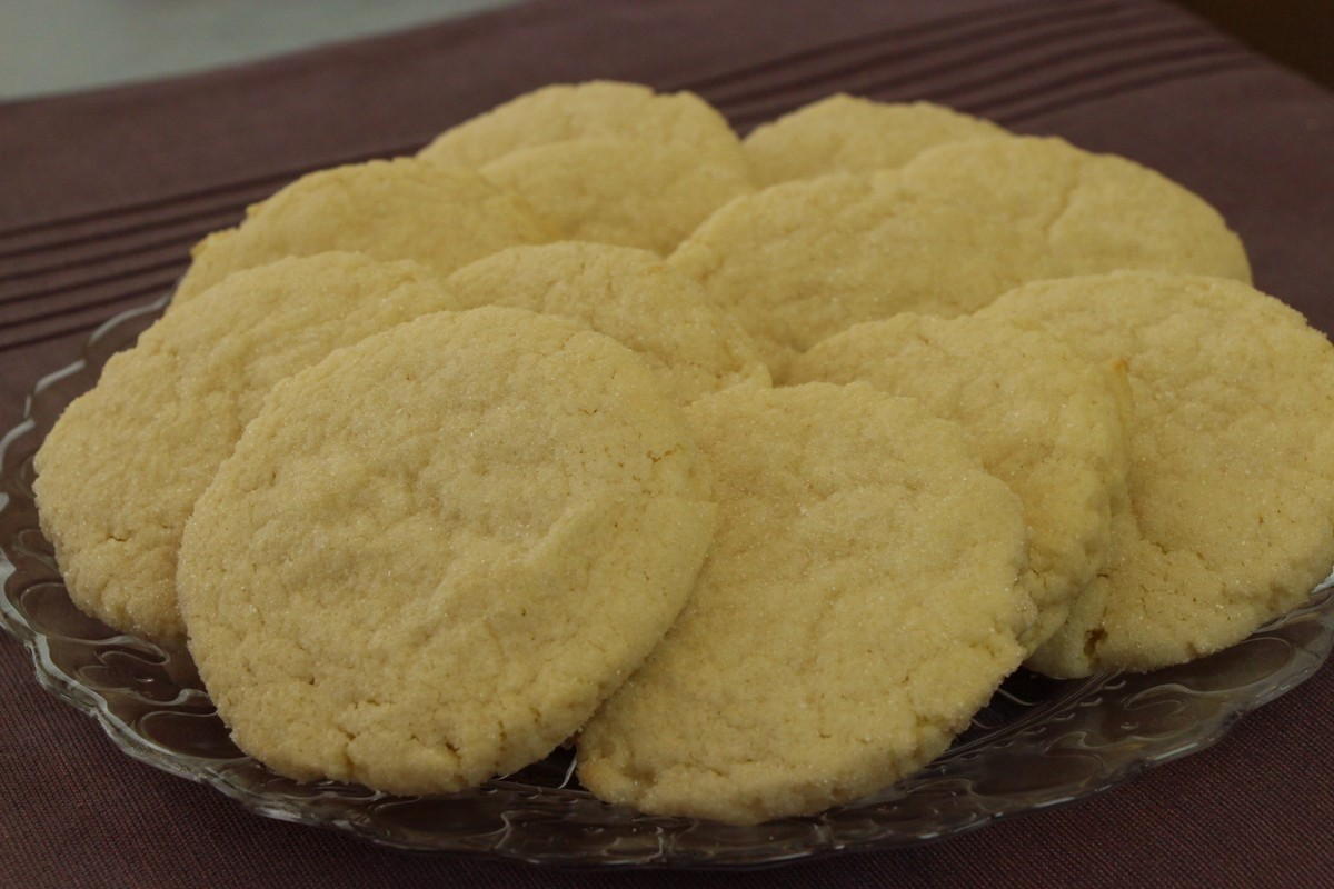 Sweet sugar cookies with flavor and zing! Picture guide.