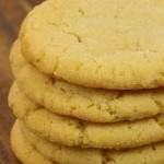 Super chewy crinkly sugar cookies. Recipe with pictures.