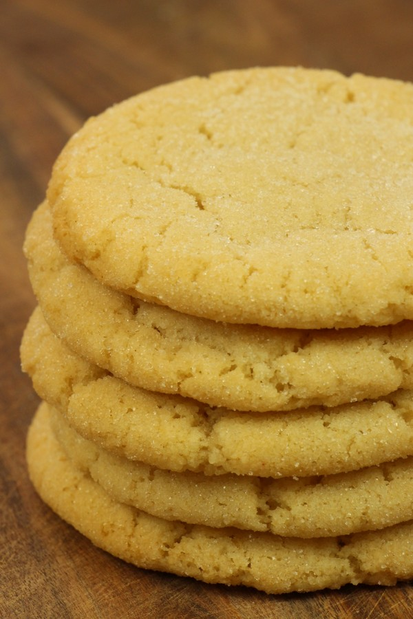 Super Chewy Crinkly Sugar Cookies Recipe