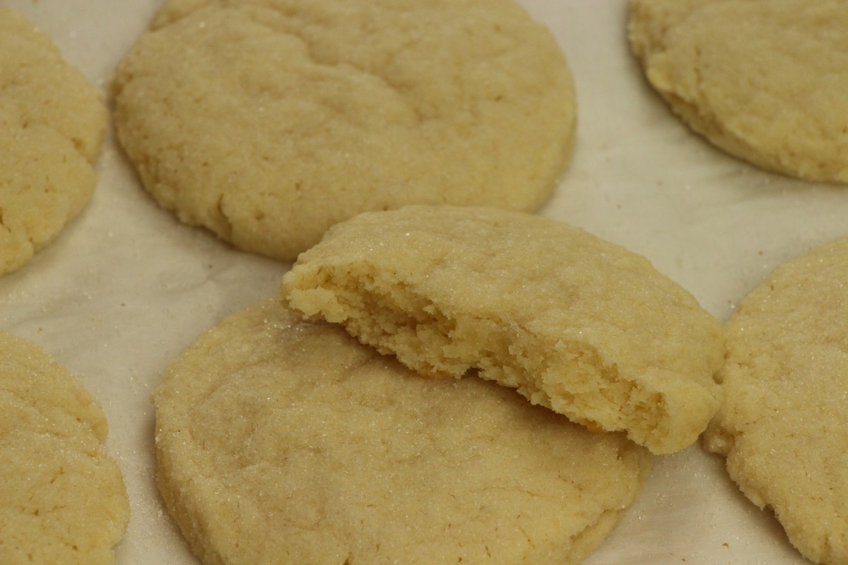 Super tasty cream cheese sugar cookies. Recipe with pictures.