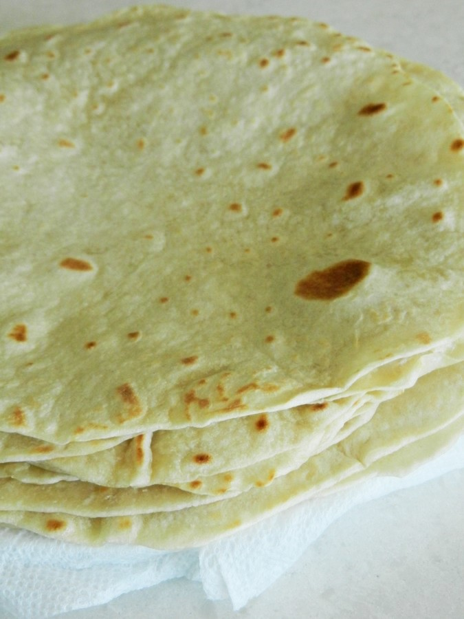 These flour tortillas are soft, silky, and flavorful, too! Recipe and picture guide.