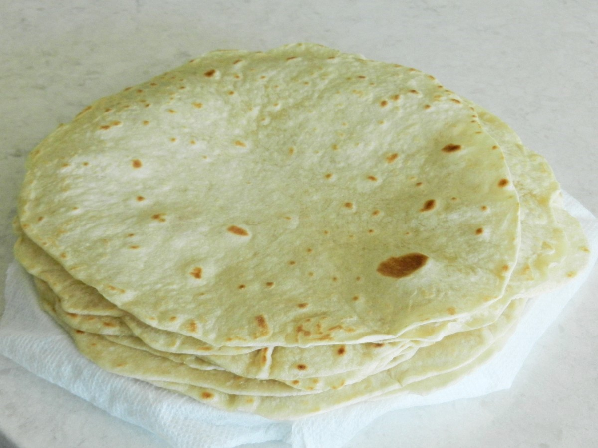 These flour tortillas are soft, silky, and flavorful, too! Recipe with picture guide.