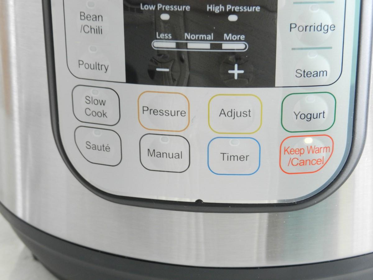 Instant Pot pressure cooker, warm setting